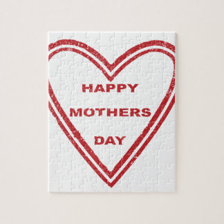 Mothers Day Heart Puzzles