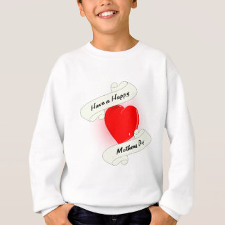 Mothers Day Heart Sweatshirt