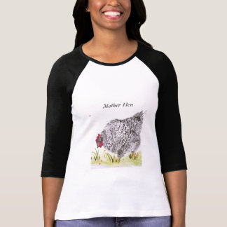 Mother's Day hen chicken long sleeved t shirt