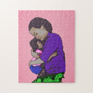Mothers Day Hugs Jigsaw Puzzle