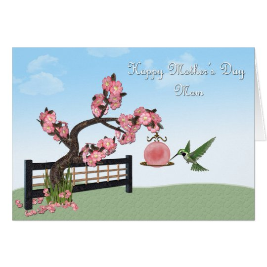 Mother's Day Hummingbird Card