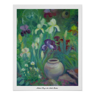 Mother's Day in the Artist's Garden Poster