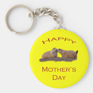 Mother's Day Kiss Key Chain