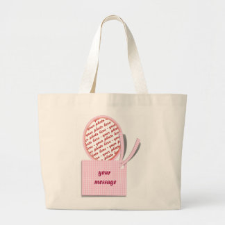 Mother's Day Memento Frame Jumbo Tote Bag