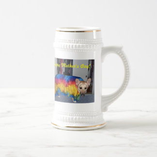 Mother's Day Modeling Clothes Beer Steins