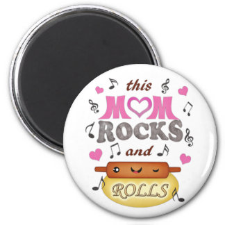 Mother's Day / Mom Rock & Bake Magnet