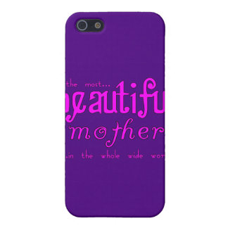 Mothers Day Moms Birthday Parties Beautiful Mother Cover For iPhone 5