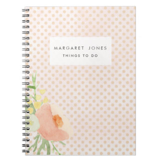 Mothers Day Mom's Personalized Journal Notebook
