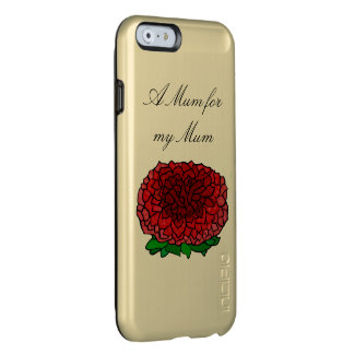 Mother's Day Mum Removable Text Incipio Feather® Shine iPhone 6 Case