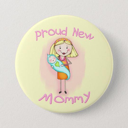 Mother's Day / New Mum 7.5 Cm Round Badge