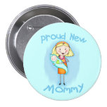 Mother's Day / New Mum Pinback Button