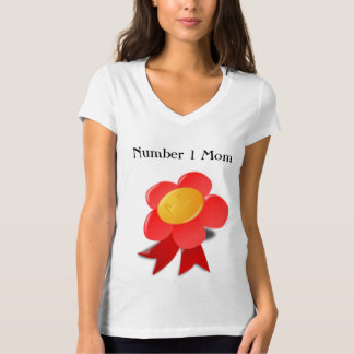 Mothers Day Number One Mom T-Shirt