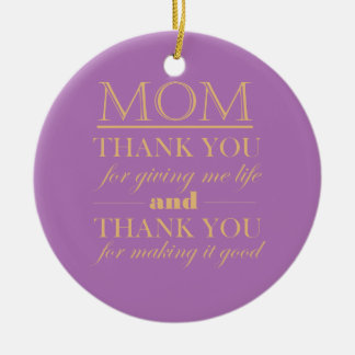 Mother's Day Photo Ornament