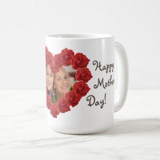 Mother's day photo roses mug