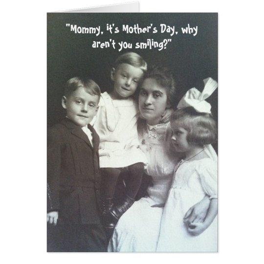 Mother's Day Photo - Vintage Card