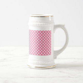 Mother's Day Pink Polka-Dotted Beer Stein