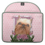 Mothers Day - Pink Tulips - Brussels Griffon