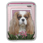 Mothers Day - Pink Tulips - Cavalier - Blenheim Sleeves For iPads