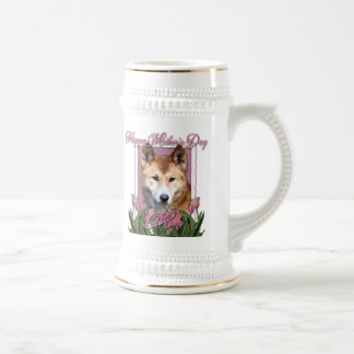 Mothers Day - Pink Tulips - Dingo Beer Steins