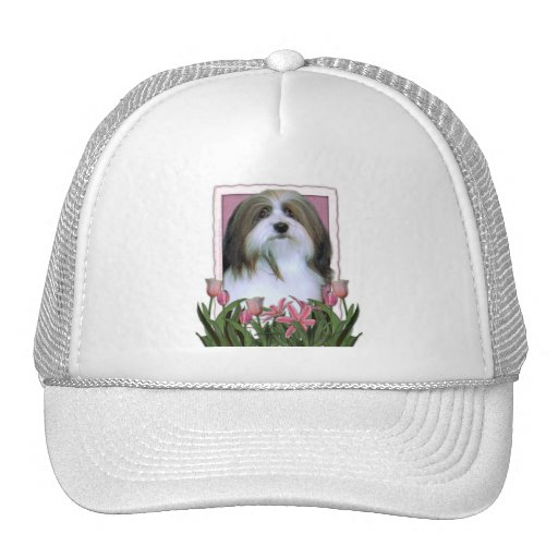 Mothers Day - Pink Tulips - Havanese Cap