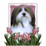 Mothers Day - Pink Tulips - Havanese Cut Outs