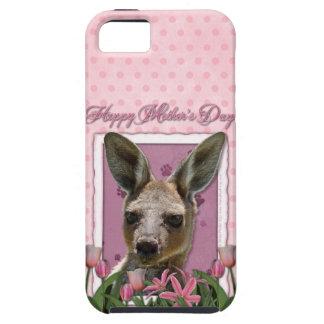 Mothers Day - Pink Tulips - Kangaroo iPhone 5 Case