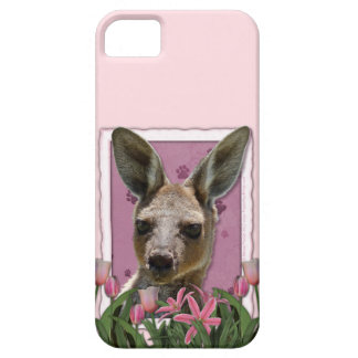 Mothers Day - Pink Tulips - Kangaroo iPhone 5 Cover