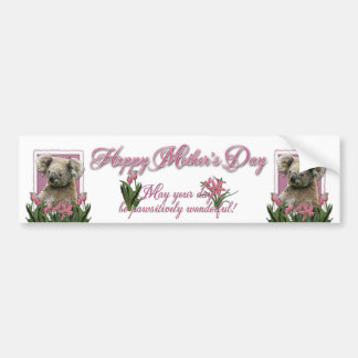 Mothers Day - Pink Tulips - Koala Bumper Stickers