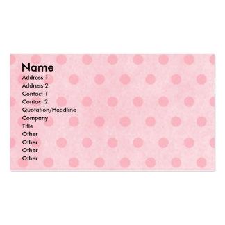 Mothers Day - Pink Tulips -Springer Spaniel Baxter Pack Of Standard Business Cards