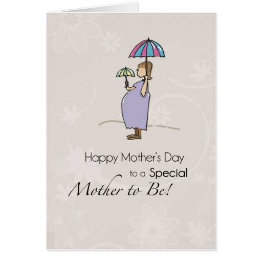 Mother's Day Pregnant Mom Greeting Cards