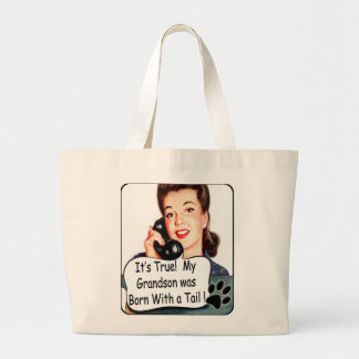 Mother's Day Present- for Dog GrandMoms Jumbo Tote Bag