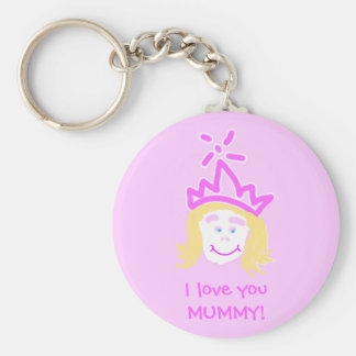 Mother's Day Princess keyring