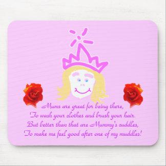 Mother's Day Princess mousepad