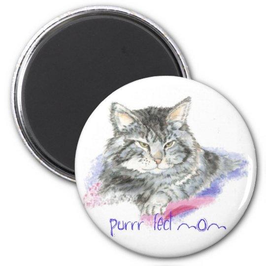 Mother's Day - Purrr-fect Mum - Cat Magnet