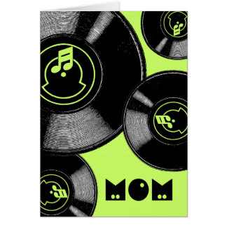 Mother's Day Records Greeting Card