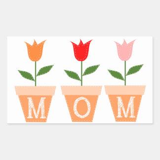 Mother's Day Rectangular Sticker