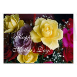 Mother's day roses greeting card