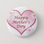 Mother's Day Round Button