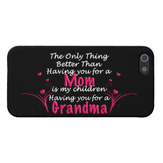 Mothers Day Saying iPhone 5 Cover
