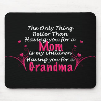 Mothers Day Saying Mouse Mat