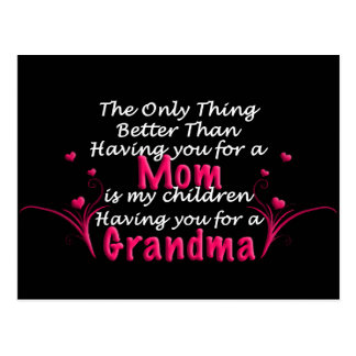 Mothers Day Saying Postcard