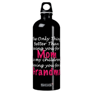 Mothers Day Saying SIGG Traveller 1.0L Water Bottle