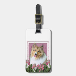 Mothers Day - Sheltie - Mandy Luggage Tag
