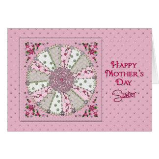 MOTHER'S DAY - SISTER - PRETTY IN PINK CARD