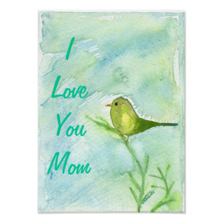 Mothers Day Song Bird Canvas Print