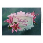 Mother's Day Stargazer Lily Card