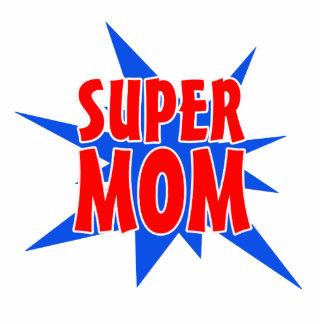Mother's Day Super Mom Magnet Photo Sculpture Magnet