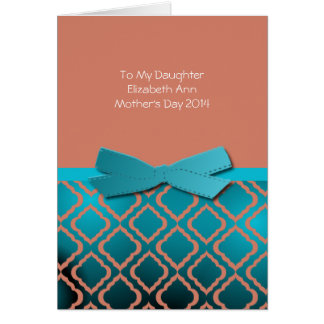 Mother's Day to Daughter Card