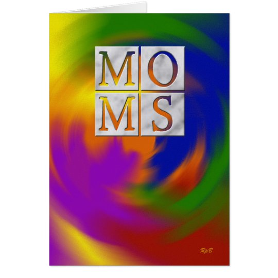 Mothers Day: Two Moms Card