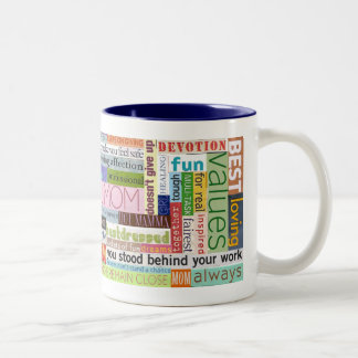 Mother's Day Two-Tone Mug